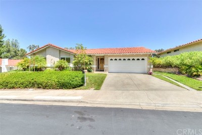 Mission Viejo Single Family Home Active Under Contract: 28031 Via Unamuno