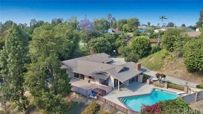 Fullerton Single Family Home For Sale: 1266 Miramar Drive