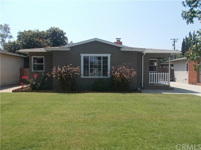 Santa Ana Single Family Home For Sale: 2106 Valencia Street