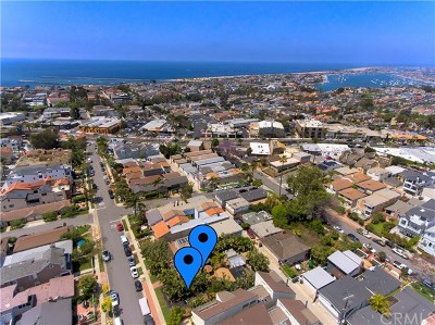 Corona del Mar Single Family Home For Sale: 609 Jasmine Avenue