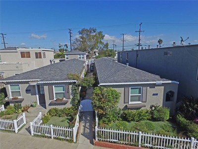 Seal Beach Multi Family Home For Sale: 1605 Electric Avenue
