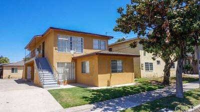 Santa Ana Multi Family Home For Sale: 1521 W Santa Ana Boulevard