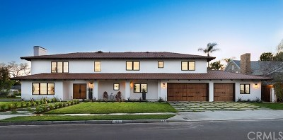 Newport Beach Single Family Home For Sale: 1601 Antigua Way