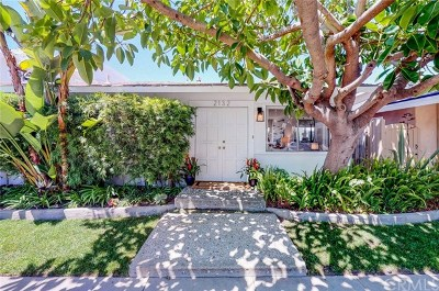 Newport Beach Single Family Home For Sale: 2132 E Ocean Boulevard