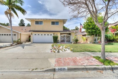 Tustin Single Family Home For Sale: 14591 Danborough Road
