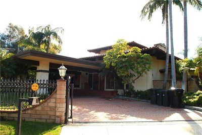 Fullerton Single Family Home For Sale: 500 W Las Palmas Drive