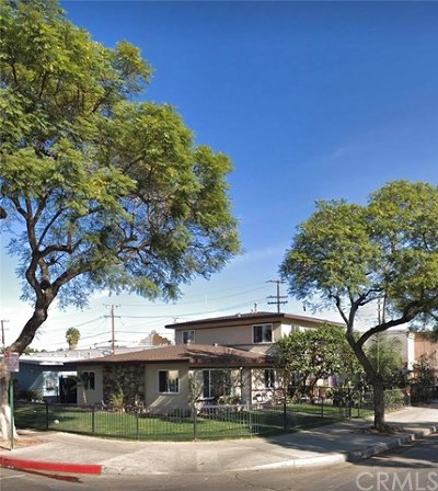 Santa Ana Multi Family Home For Sale: 1821 Evergreen Street