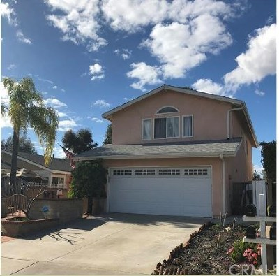 Mission Viejo CA Single Family Home For Sale: $745,000