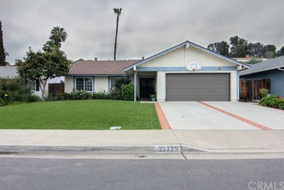 Mission Viejo CA Single Family Home For Sale: $739,888