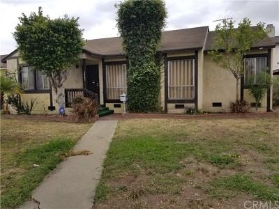 Gardena Single Family Home For Sale: 2032 Marine Avenue