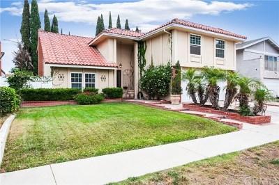 Costa Mesa Single Family Home For Sale: 1057 Tulare Drive