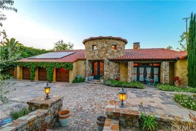 Yorba Linda Single Family Home For Sale: 18997 Villa Terrace