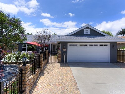 Lake Forest Single Family Home Active Under Contract: 24202 Ankerton Drive