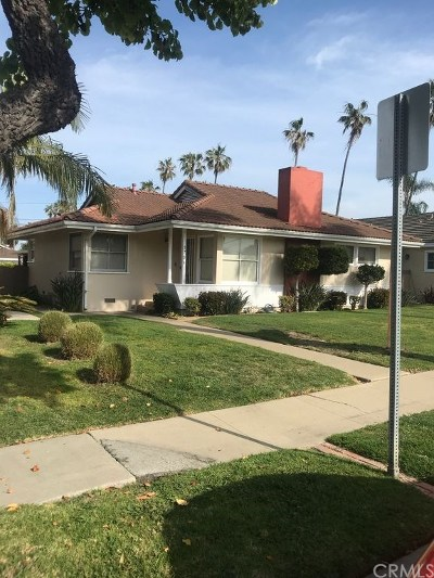 Single Family Home For Sale: 1706 Park Street