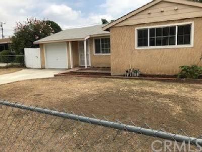 Azusa CA Single Family Home For Sale: $465,500