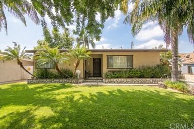 Fullerton Single Family Home For Sale: 1448 W Flower Avenue