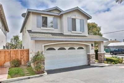 Costa Mesa Single Family Home For Sale: 431 W Bay Street #L