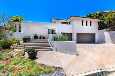 Laguna Beach Single Family Home For Sale: 935 Emerald Bay
