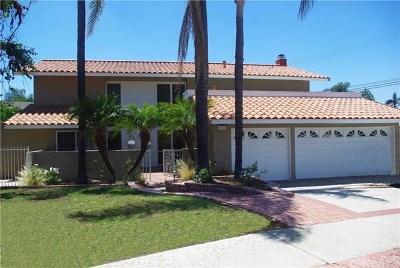 Yorba Linda Single Family Home For Sale: 4031 Odessa Drive