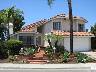 Mission Viejo Single Family Home For Sale: 27151 Corcubion
