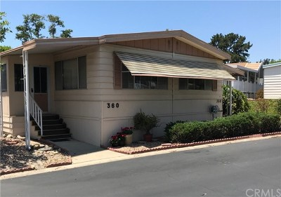 Irvine, Laguna Hills, Lake Forest, San Clemente, San Juan Capistrano Mobile Home For Sale: 24001 Muirlands Boulevard