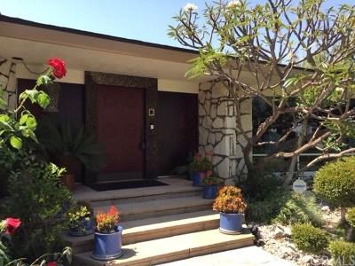 La Mirada Single Family Home For Sale: 15349 Placid Drive