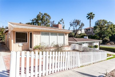 Corona Del Mar Single Family Home For Sale: 402 Heliotrope Avenue