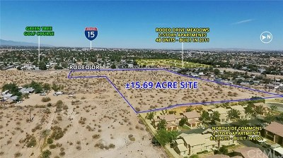 Victorville Residential Lots & Land For Sale: Rodeo Drive