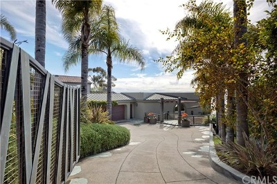 Laguna Beach Single Family Home For Sale: 31597 Table Rock Drive
