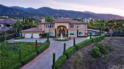Corona CA Single Family Home For Sale: $3,749,000