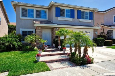 Irvine CA Single Family Home For Sale: $1,100,000