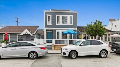 Newport Beach Condo/Townhouse For Sale: 209 38th Street #A