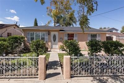 Artesia Single Family Home For Sale: 18319 Norwalk Boulevard