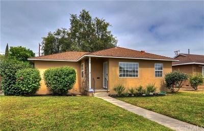 Fullerton Single Family Home For Sale: 605 S Gilbert Street