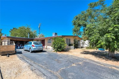 Joshua Tree Single Family Home For Sale: 61495 La Jolla Drive