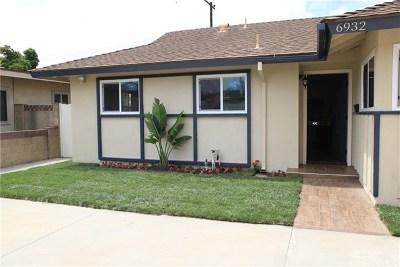 Huntington Beach Single Family Home For Sale: 6932 Oxford Drive