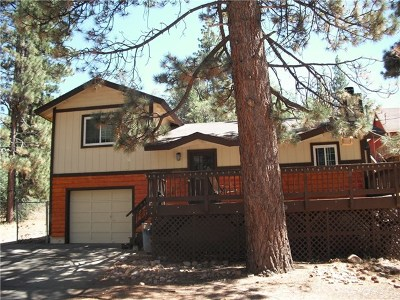 Big Bear Single Family Home For Sale: 40003 Creek Road