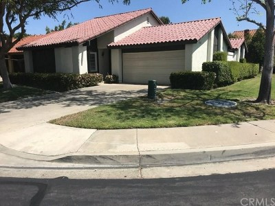 Mission Viejo CA Single Family Home For Sale: $599,000