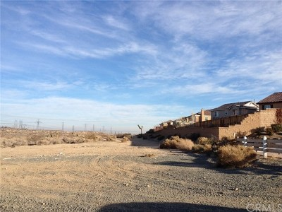 Victorville CA Residential Lots & Land For Sale: $175,000