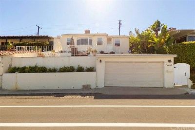 Dana Point Single Family Home For Sale: 34041 Blue Lantern Street