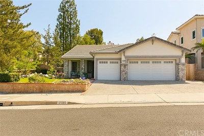 Rancho Santa Margarita Single Family Home For Sale: 21392 Silvertree Lane