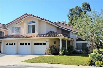 Laguna Hills Single Family Home For Sale: 25911 Cedarbluff