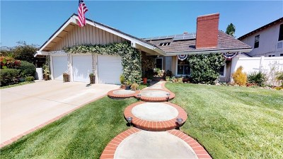 Yorba Linda Single Family Home For Sale: 6301 Hillside Drive