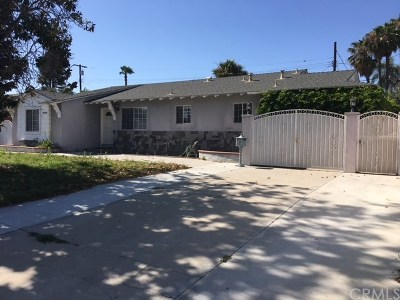 Garden Grove Single Family Home For Sale: 10171 Roselee Drive