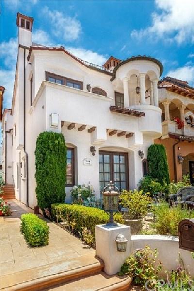 Newport Beach, Newport Coast, Corona Del Mar Rental For Rent: 308 Carnation Avenue #1/2