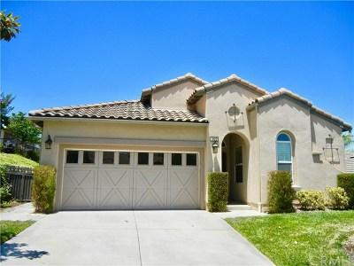 Corona Single Family Home For Sale: 9072 Deergrass Street