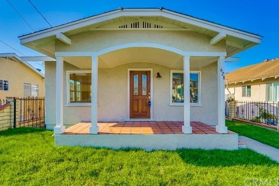 San Pedro Single Family Home For Sale: 628 W 22nd Street
