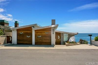 Laguna Beach Single Family Home For Sale: 2049 Ocean Way