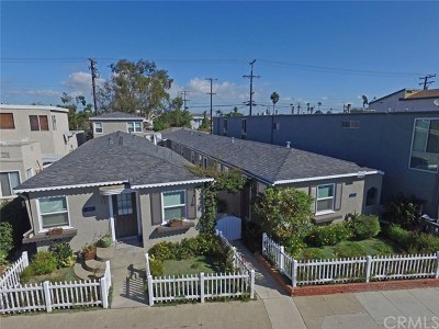 Seal Beach Multi Family Home For Sale: 1603 Electric Avenue