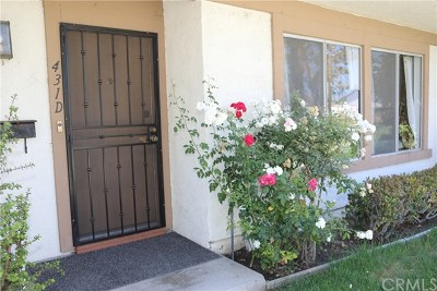 Santa Ana Condo/Townhouse For Sale: 431 W Alton Avenue #D